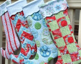 Jingle Stocking Pattern by Amanda Murphy