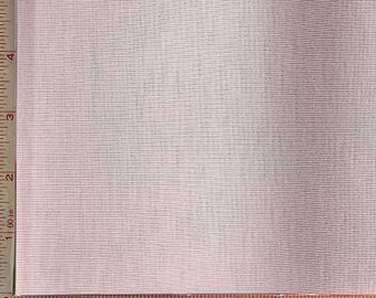 "Light Pink Rib Fabric 2 Way Stretch Polyester Rayon 9 Oz 58-60"""
