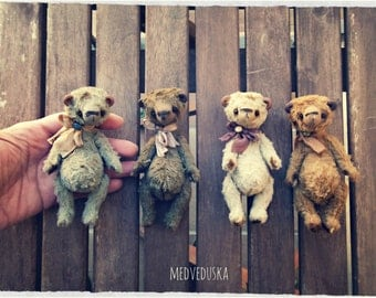 Mini teddy bear new pattern