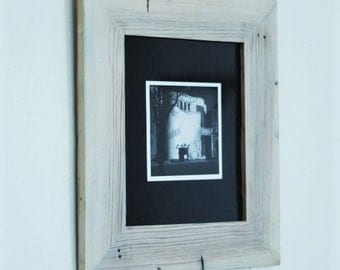 solid reclaimed wood picture frames