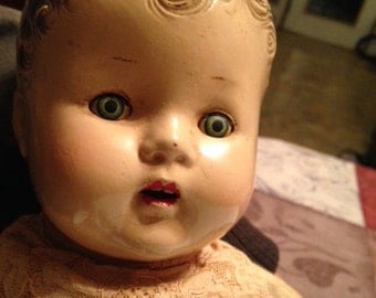 Composite Toddler doll --1920's?