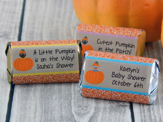 fall baby shower favors little pumpkin baby shower favors baby