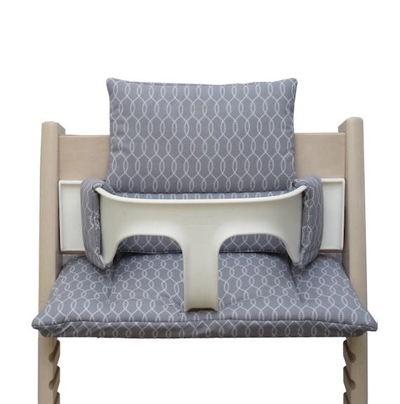tripp trapp sitzkissen sailer grau. Black Bedroom Furniture Sets. Home Design Ideas