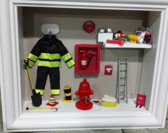 Firefighter Miniature Box