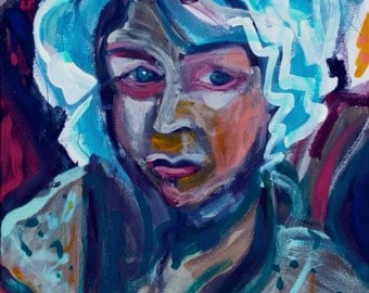 Woman Abstracted