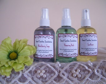 Scented Linen Spray / Linen Spray / Room Freshener / Scented Spray / Aromatherapy / Bathroom Spray