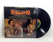Sadler's Wells Opera Presents Verdi's Rigoletto (Highlights in English) vintage vinyl record LP album OOP || 60's Capitol Promenade Series