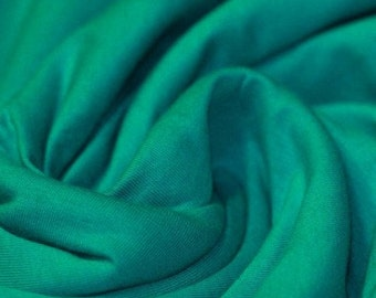 Plain Jersey - Emerald Green