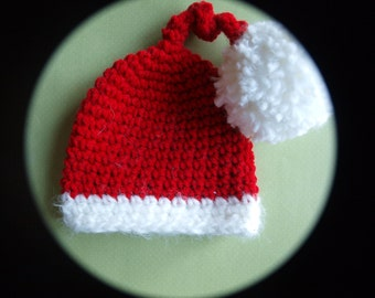 baby stocking hat, baby Christmas stocking hat, baby Christmas hat, newborn stocking hat, newborn Christmas hat photograpy prop, baby hat