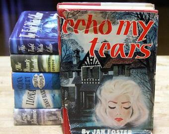"""Jan Foster """"Echo My Tears"""" hard back - 1960s"""