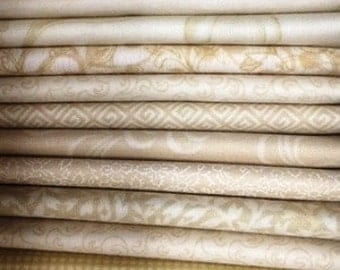 Neutral Fat Quarter Bundle (26 fat quarters)