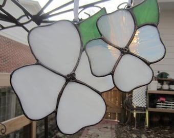 Dogwood Blossom Suncatcher