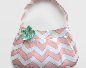 Fabric Handbag - Buttercup Bag - Customizable