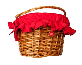 Reddie, Water-Repellent Basket Cover