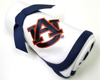Auburn Tigers Baby Receiving Blanket