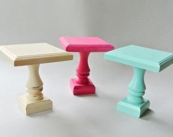 Cupcake stands. Mini cupcake stand. Cupcake pedestal