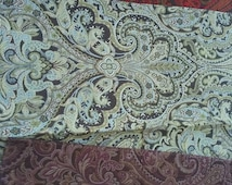 "Bundle of 3 embroidery  fabrics Fat Quarter FQ Fabric Robert Allen  Fabrics Marston Mills  18"" x 18"" Viscose  Polyester"