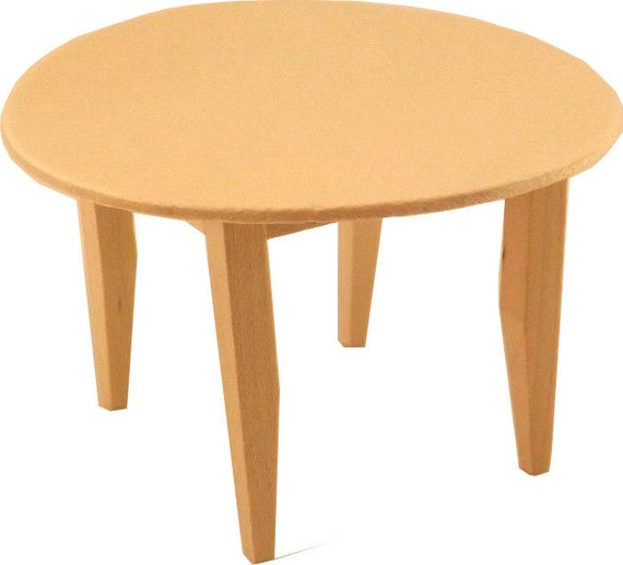 Free Shipping Unfinished Wood Pine Round Kitchen Table Craft