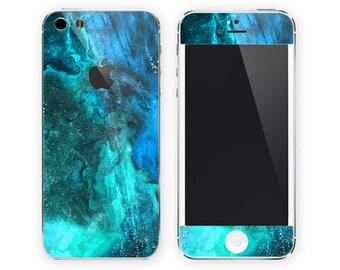 iPhone Case Alternative iPhone Skin iPhone Decal iPhone Sticker for iPhone 4 iPhone 4s iPhone 5 iPhone 5c iPhone 5s Under Sea