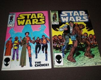 Star Wars 90 - 96, 98 - 99, (1984-85), Marvel Comics C10