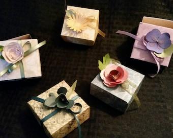 3D Flower Boxes