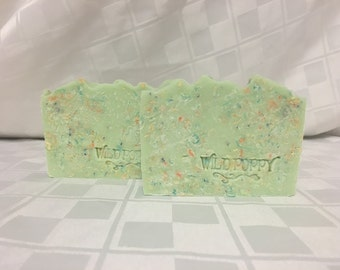 Margarita Lime Soap / Artisan Soap / Handmade Soap / Soap / Cold Process Soap