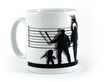Horror Suspects Movie Mug