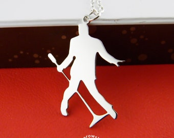 Elvis Presley pendant (free shipping) - necklace stainless steel