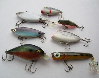 7 Vintage Fishing Lures