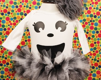 Ghost Tutu Halloween Costume