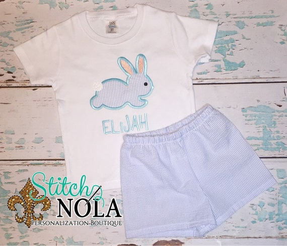 Hippity Hop Bunny Top & Shorts Set