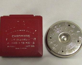 Chromatic Pitch Instrument and Case, Thirteen Key, Wm. Kratt Co., USA, 1950's