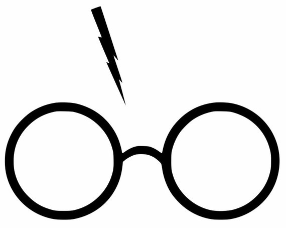 Harry Potter Glasses With Lightning Bolt Scar Yeti Cup Car