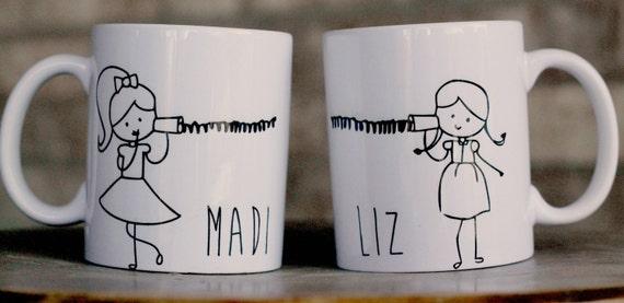 Meilleur Ami Mugs Mug De Longue Distance De M 232 Re Fille