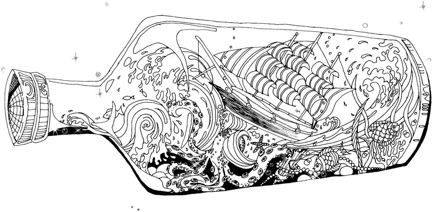 ocean storm coloring pages - photo#13