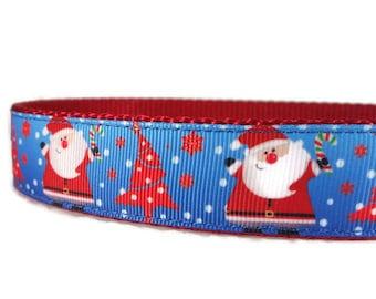 Santa Christmas Dog Collar