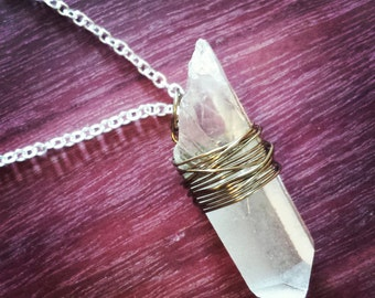 Raw Crystal Necklace