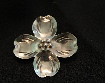 Sterling Silver Cherry Blossom Charm and Brooch
