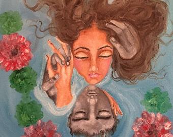 Floating in love