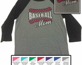 Glitter Baseball Mom Jersey