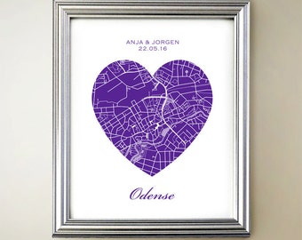 Odense Heart Map