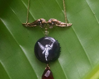 Wing Cap Necklace
