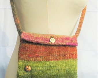 Felted Cross Body Bag