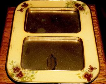 Vintage Bucklers Enamel Floral Frames