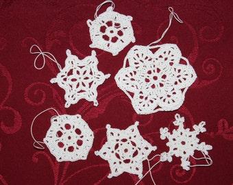 crochet snowflakes Nr. 3