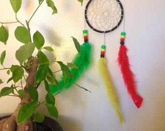 Rasta Themed - Boho Hippie Dream Catcher