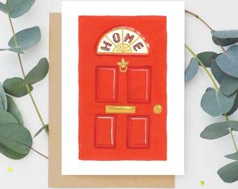 Front Door New Home Card