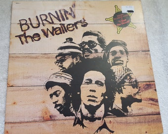 Bob Marley and the Wailers - Burnin' - Album Vinyl LP Record