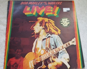 Bob Marley and the Wailers - Live - Album Vinyl LP Record