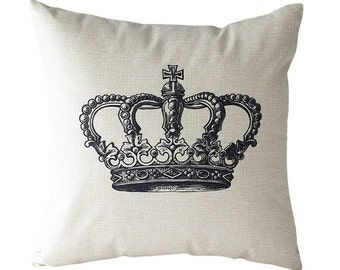 Royalty Crown Pillow